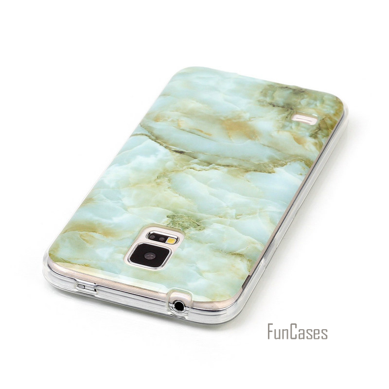 For Samsung Galaxy S5 case Soft Silicone TPU cover For Samsung Galaxy S 5 SV I9600 G900S 5.1 Marble Phone Case fundas