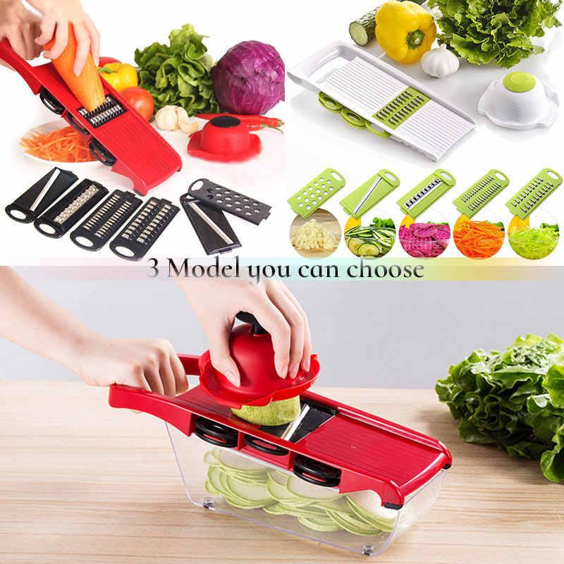 Cortador de legumes Ralador Mandoline Cortador Descascador Multi-função de Cenoura Cebola Frutas Ferramentas Da Cozinha Acessórios de Cozinha