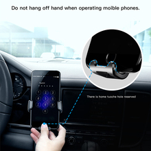 Baseus Gravity Car Mount for Mobile Phone SUYL Plastic + TPE