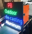 High refresh rate Die casting aluminum outdoor LED display P8 full color 512x512mm panel for stage / concert / meeting