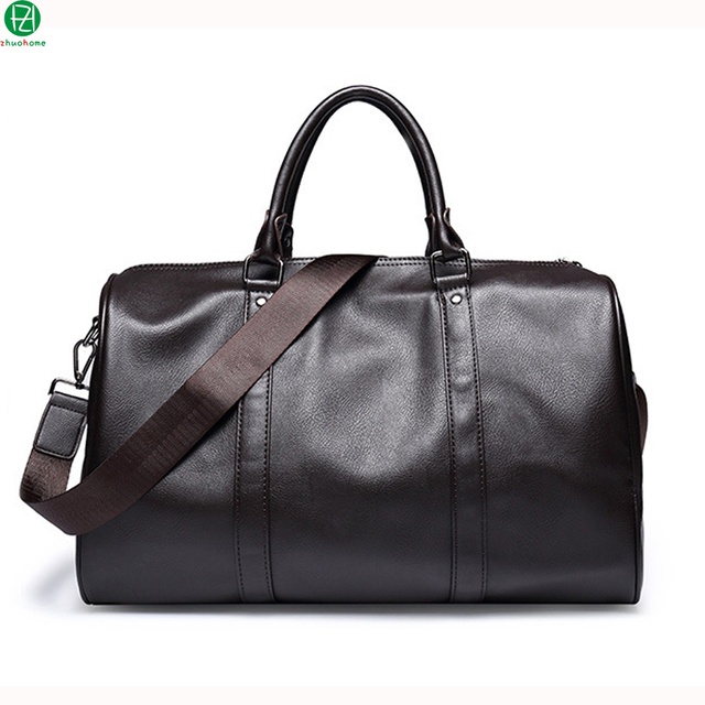 Большой емкости высокого качества кожа мужчины дорожная сумка 15.6 дюйм(ов) мужчины сумка почтальона сумочки tote сумки мужчины плеча crossbody сумки
