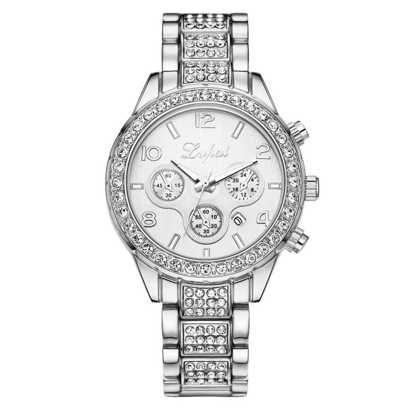 New Arrive 2018 Women Bracelet Watch Women Fashion Alloy Wrist Watches Women Dress Watches Gift Quartz Watch