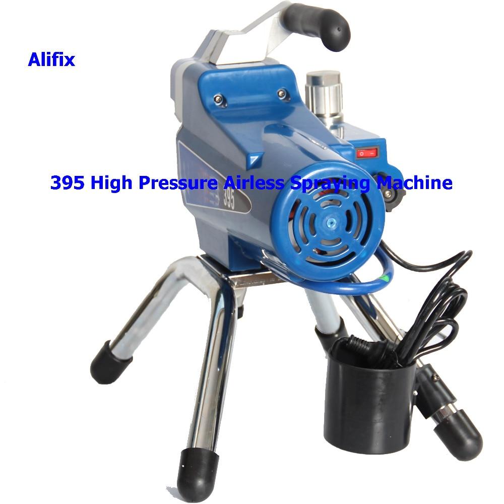 Image 2 - 2019 High pressure New airless spraying machine Airless Spray Gun electric Airless Paint Sprayer 390 395 painting machine tool-in Spray Guns from Tools on