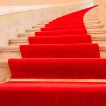 Красный ковер один-ВЫКЛ брак красный ковер празднование открытие свадьбы индивидуальные двери Лестницы противоскользящие и толще