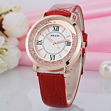 KEZZI Brand Womens Watch Luxury Rome Number Rhinestone Crystal Dress Watch Casual Fashion Quartz Wristwatches Dames Horloges New
