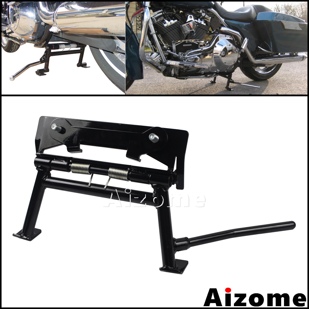Motorcycle Easy Up Center Stand For Harley Touring Road King Ultra Classic Electra Glide Sport Road