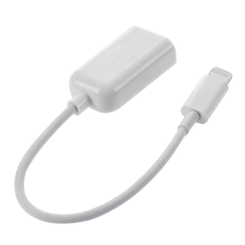 Zastaw do podłączania aparatu fotograficznego złącze stacji dokującej na USB przewód przejściowy otg dla iPad 4 i Mini