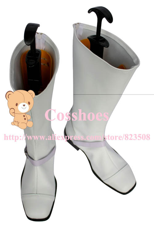 Изготовленные на заказ ботинки Cid Raines от Final Fantasy XIII Косплей