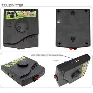 Image 3 - 電気ペットフェンス地下犬のフェンス充電式レシーバ電気犬の訓練の襟ペット収容システム W 227B 新