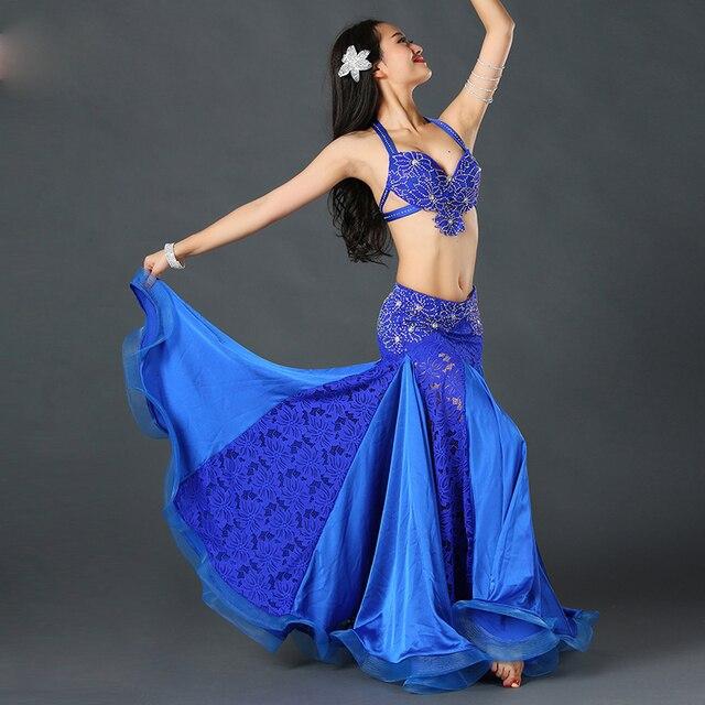 Восточный танец живота индийский цыганский танец танец костюм костюмы одежда бюстгальтер ремень цепь шарф кольцо юбка dress suit