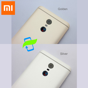 Image 2 - Original Battery Back Cover For Xiaomi Redmi Note4 Back Housing Rear Door Case For Redmi Note 4 Power Volume Buttons+Camera Lens