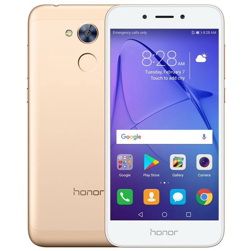 Глобальная прошивка huawei Honor 6A играть 2 ГБ 16 ГБ Восьмиядерный Snapdragon 430 мобильный телефон 5,0 дюймов Dual SIM Android 7,0 отпечатков пальцев