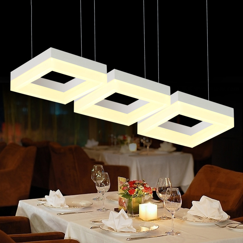 Modern Led White Chandelier Lighting For Living Room Bedroom mounted smart modern pendant light ...