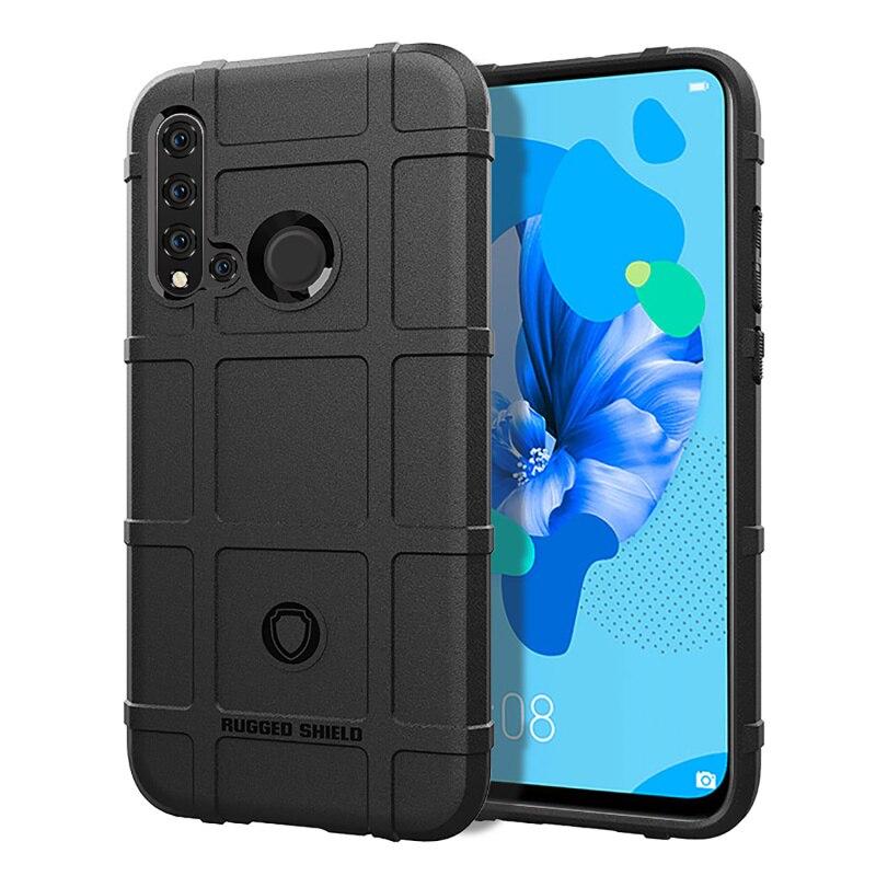 30pcs lot Case For Huawei P20 Lite 2019 Nova 5i Soft Rugged Shield Rubber Back Cover