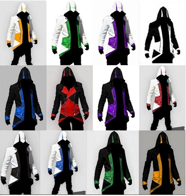 Halloween Masquerade Assurance 3 New Men S Fashion Kenway Anime Jackets Cosplay Costume Assassins Creed Conner