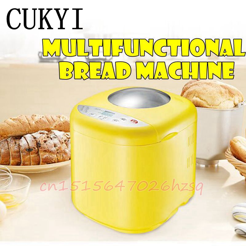 CUKYI Household automatic multifunction bread machine bookable Keep warm yogurt cake maker cukyi 270w household electric rice machine keep warm double layers multi purpose rice cooker