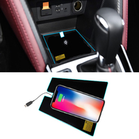Special on board QI wireless phone charging Pad Panel Car Accessories For Mazda CX 3 CX3 2017 2018