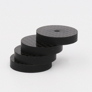Image 5 - Isf0001 preto fibra de carbono alto falante isolamento 25x5mm spike base almofada sapato pés alta fidelidade 4 pçs