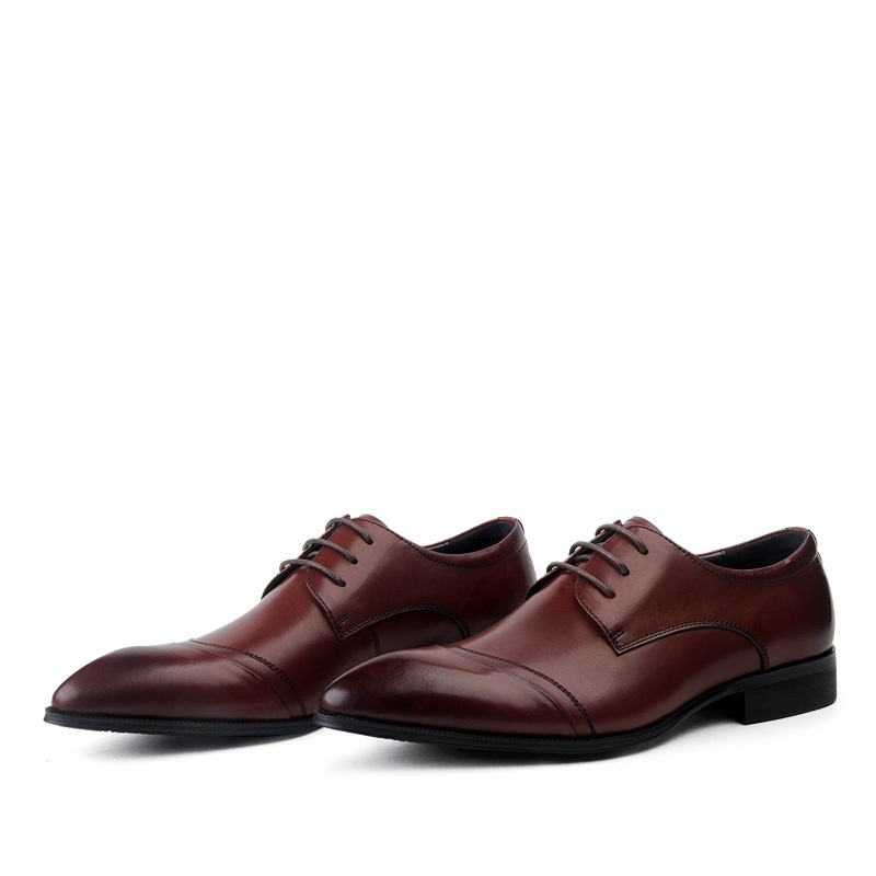 Mycolen Oficina Para Punta Oxfords Zapato Oxford Vestir Hombre De Negro Lace Negocios Hombres Tinto Formal Los vino Up Moda Zapatos Estrecha 4wr4qZB