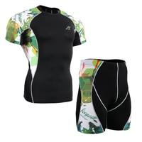 Life on track Men's Sportswear Riding underwear Male Set Sportswear Sport Suit Workout Cycling Clothing Set