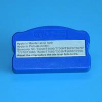 Coletor de Resíduos de tinta resetter chip para Epson T6193 T3270 T5270 T7270 T3000 T5000 T7000 P10000 P10080 P20000 P20080 impressora jato de tinta