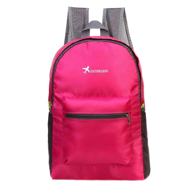 Selfless Travel Bag Backpack Outdoor Travel Folding Shoulder Bag Diamond Rucksack Sports Backpack Safety & Survival Z0824 Attractive Appearance
