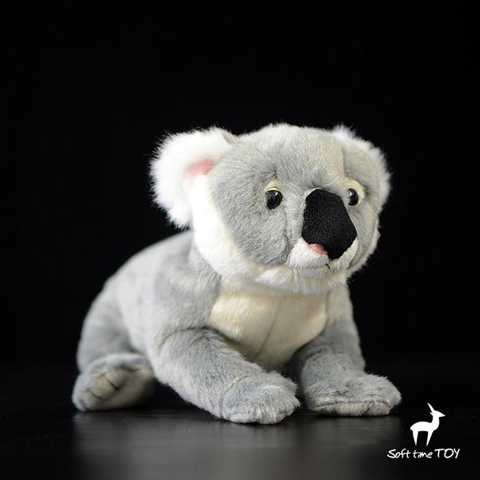 Sevimli Koala Doll Peluş Oyuncaqlar Uşaqlar Dolls Simulyasiya Doldurulmuş Heyvan Oyuncaq Hədiyyələri