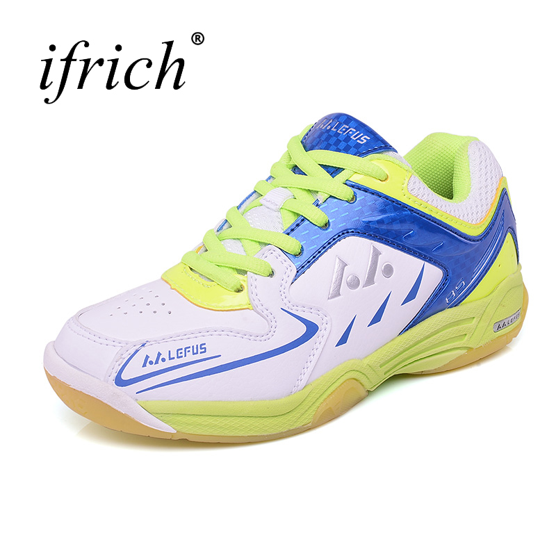 2017 New Cool Sneakers Kids Brand Blue Pink Tennis Shoes Boys Girl Rubber Leather Girls High Quality Brand Badminton Shoes