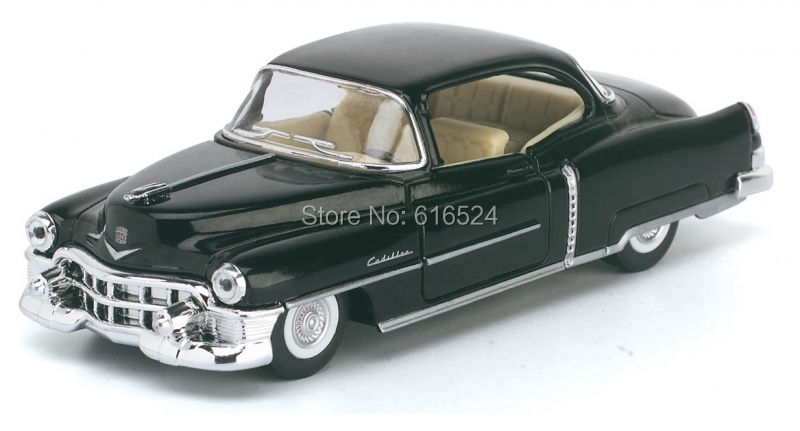 brand new diecast 1953 cadillac series 62 coupe classic boys fashion vintage children education alloy model toy cars kids gift