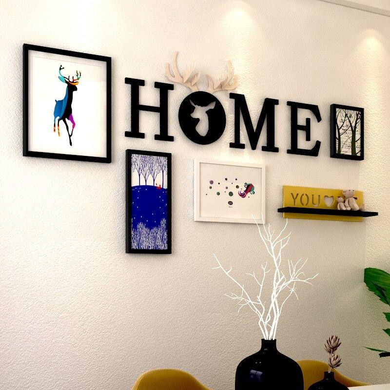 Comprar ahora Marcos decorativos pared marcos de fotos al estilo ...