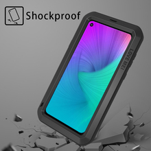 LOVE MEI Metal Case For Samsung Galaxy A8s Cover Armor Shockproof Phone Case For Samsung Galaxy A8s Aluminum Protective Shell