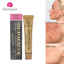 Do Dropshipping 100% Original Dermacol base concealer makeup Cover base tattoo consealer face foundation contour palette 30g