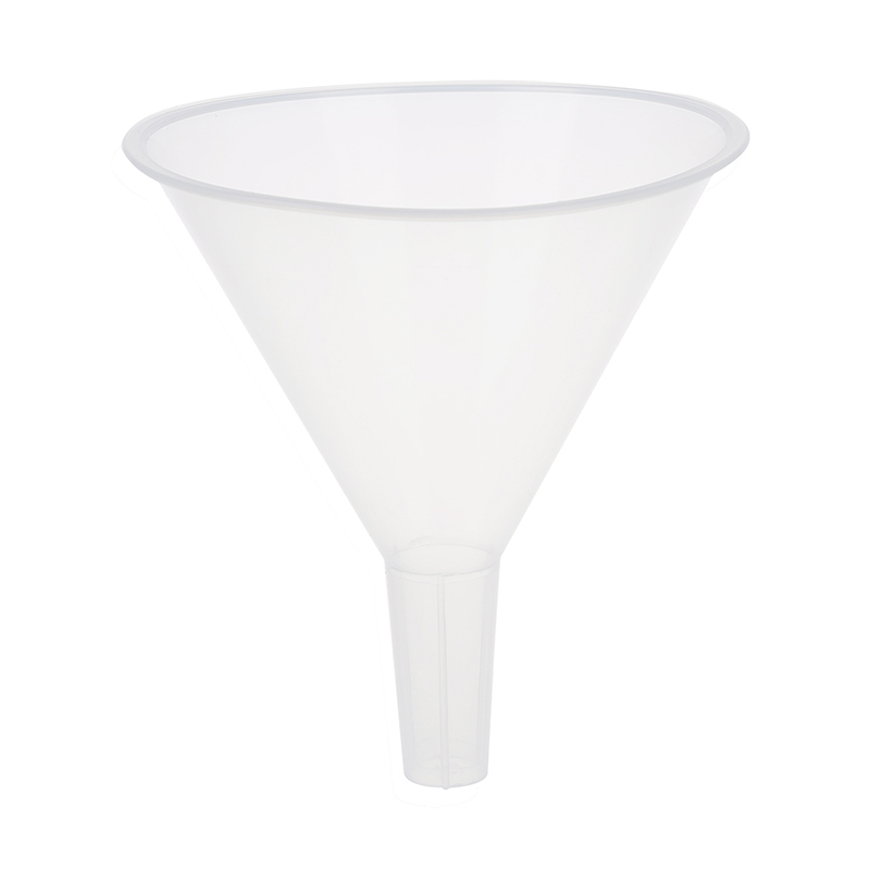 120ml 4 9/10 Mouth Dia Laboratory Clear White Plastic Filter Funnel