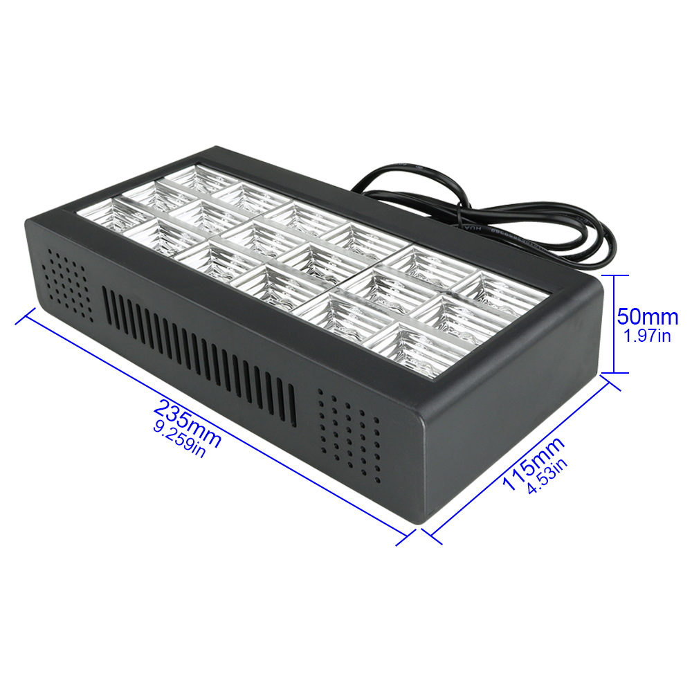 Image 3 - 18 LED Strobe Stage Lighting Effect  RGB Sound Remote Control for Disco DJ Bar Holiday Party Christmas Flash Sound Active Light-in Stage Lighting Effect from Lights & Lighting