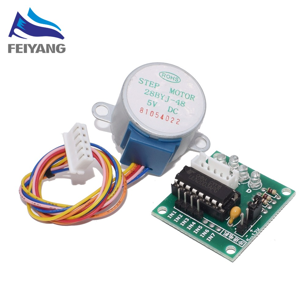 28BYJ-48-5V 4 Phase Stepper Motor+ Driver Board ULN2003 Stepper Motor + ULN2003 Driver Board