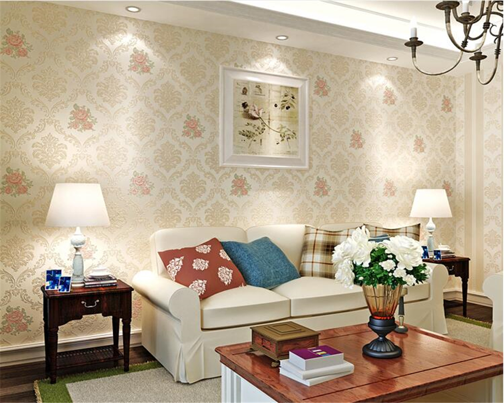 beibehang papel de parede wall paper Stereo Fashion Aesthetic Relief Wallpaper Pastoral Nonwovens Warm and romantic 3d wallpaperbeibehang papel de parede wall paper Stereo Fashion Aesthetic Relief Wallpaper Pastoral Nonwovens Warm and romantic 3d wallpaper