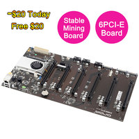 100 Brand New For Onda D1800 BTC Mining Machine Mining Motherboard Support 6 Cards All Solid