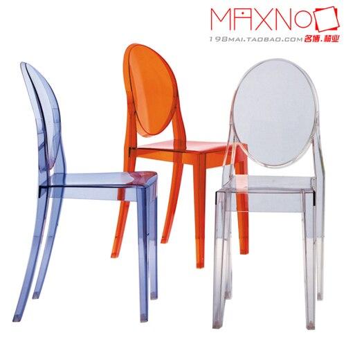 transparent stoelen creatieve mode minimalistische stoelen zonder armleuningen transparante. Black Bedroom Furniture Sets. Home Design Ideas