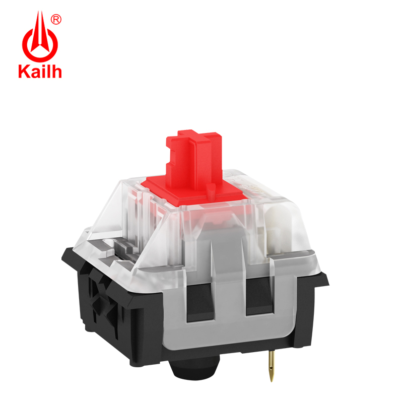 Kailh Long Hua Gaming Mechanical Keyboard Switch SMD With Brown/Red/Blue/Black Keystem, With Pins