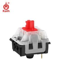 Kailh Long hua commutateur de clavier mécanique de jeu SMD avec porte clés marron/rouge/bleu/noir, avec broches