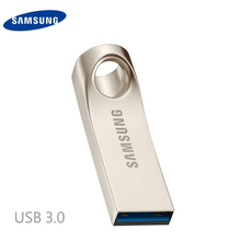 Samsung usb flash drive de disco 32g 64g 128 usb 3.0 de metal Super Mini Pen Drive Minúsculo Dispositivo Pendrive Memory Stick Almacenamiento U (32BA)