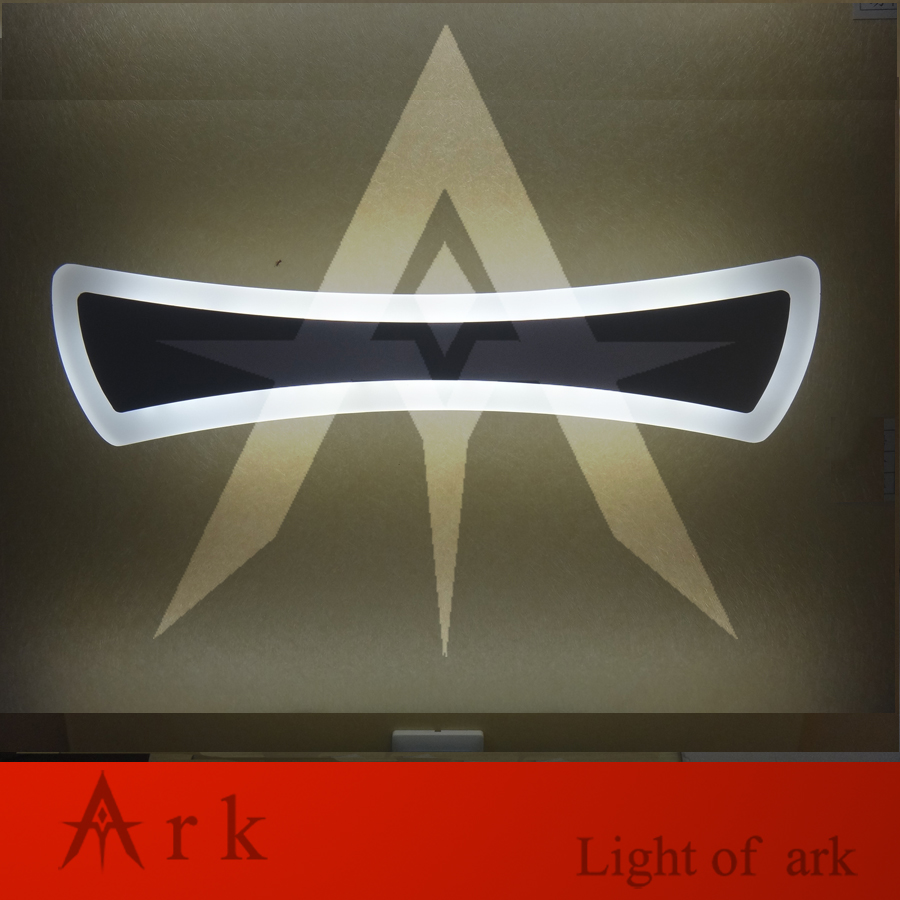Buy ark light 40cm bow tie 14W Acrylic Wall Lamp Bathroom LeD Mirror Lamp Bathroom Aisle Living Room Waterproof Anti-fog AC 80-265V
