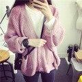 Де Dove2015 новая осень свободной летучей мыши рукав свитера кардиган пальто завод прямых Корейских женщин кардиган свитер