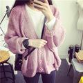 De Dove2015 new fall loose bat sleeve sweater cardigan coat factory direct Korean female cardigan sweater