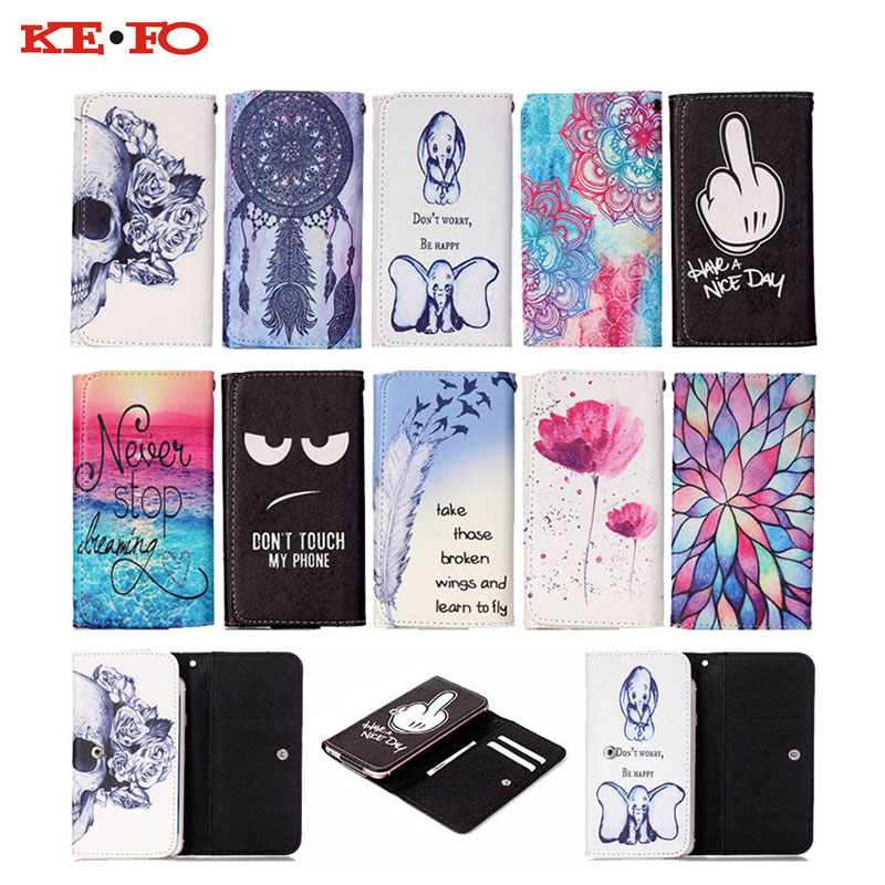 Magnetic Flip Universal Mobile Phone Bags Wallet Pouch Case cover For Samsung Galaxy J7 J7108 (2016) universal phone case 5.5