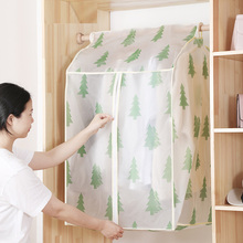 Wardrobe Storage Bag Dust Cover Protector Peva Garment bag Suit Coat Repeatedly Used Transparent Window Design