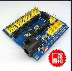 Бесплатная доставка UNO Shield нано-щит для Nano 3,0 и UNO R3 duemilanove 2009 Плата расширения
