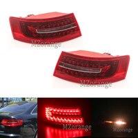 MZORANGE Outside Tail Light LED for Audi A6 C6 S6 Quattro RS6 Saloon Sedan 2009 2011 Tail Lamp Assembly 4F5945095J 4F5945096J