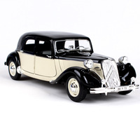 1:18 Diecast Alloy Sports Car Model Toys For Citroen 1952 15cv 6 Cyl Classic Version Diecast Vintage Car Models For Collecting