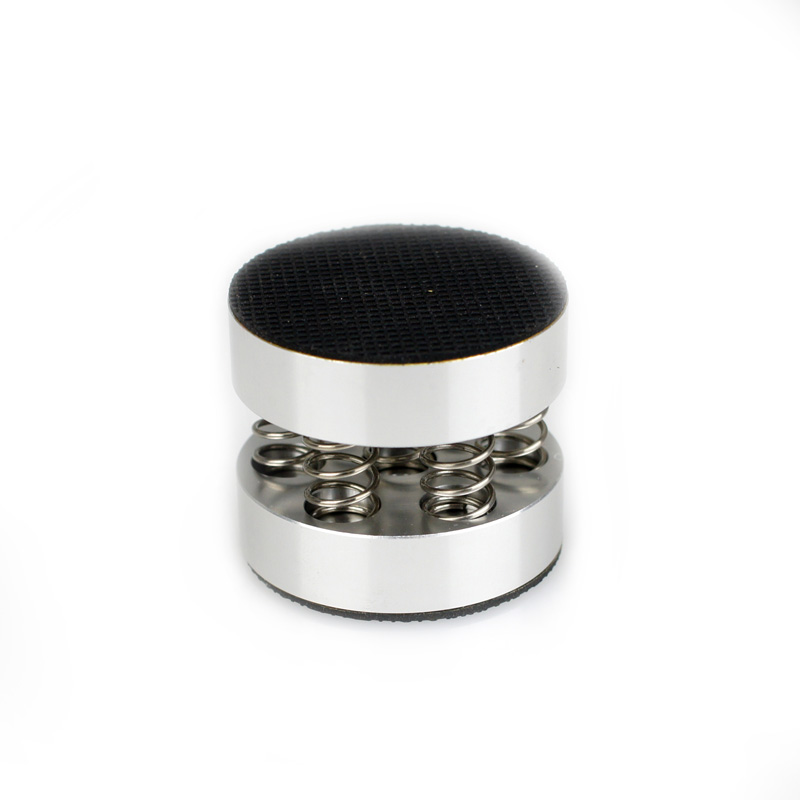 8pcs/lot Spring Float Speaker Spike Amp Stand Base Feet HIFI Isolating 44mm Aluminum-in Speaker Accessories from Consumer Electronics    1